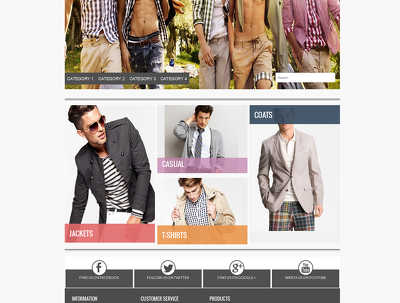 Create custom with RESPONSIVE design for your eBay store