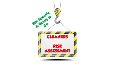 Write 4 site specific cleaning risk assessments