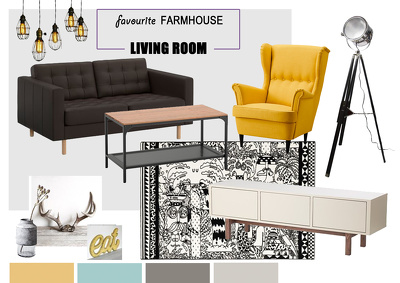 Make a mood board for a house/apartment