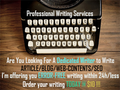 Write reader attractive article,blog,web content and seo