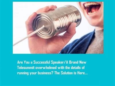 Do speaker management and Telesummit Management