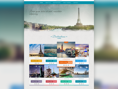 Design (or redesign) a Professional Web Page in PSD Format