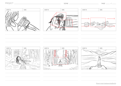 Produce a DIRECTOR STORYBOARD