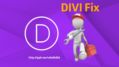 Fix divi issues for you