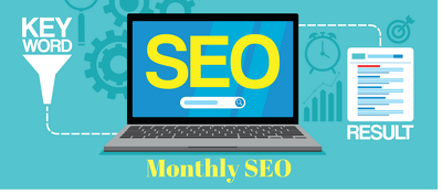 Provide a monthly SEO package to boost your website in Google