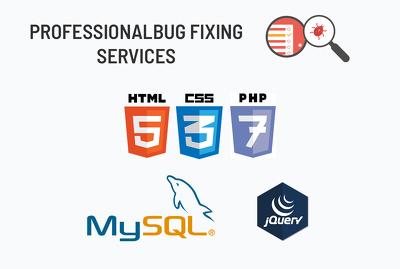 Fix PHP / MySQL / jQuery / AJAX error/bugs