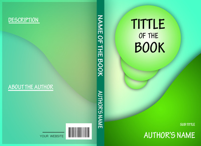 Design simple attractive book covers / E-book covers