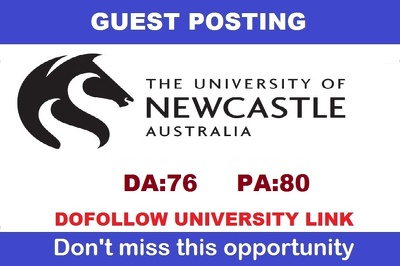 Edu guest post on The University of Newcastle, Australia - DA76