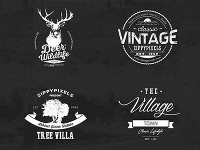 Design Professional Vintage Badge Logo