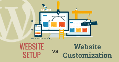 Do Customize Professional Wordpress Website And Any Site