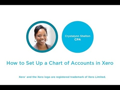 Set up and import accounts to Xero Accounting Software