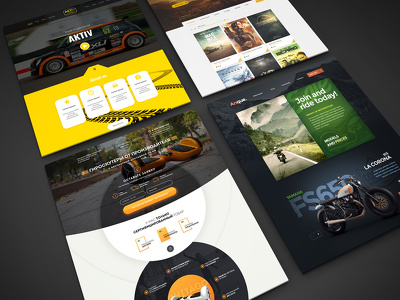 Design responsive homepage/landing page design