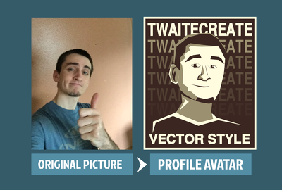 Create a personalized portrait cartoon character avatar