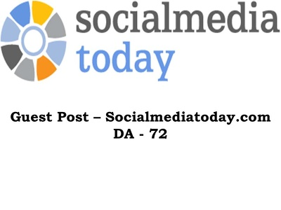 Write and publish article in socialmediatoday da72