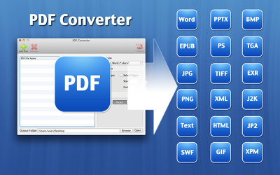 Convert PDF into xl,dox,ppt,image,text ,html very fast.
