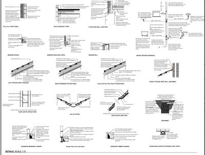 Building regulations plans for UK extension / Loft conversion