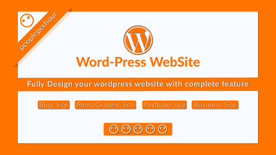 Make a responsive word press website with complete feature