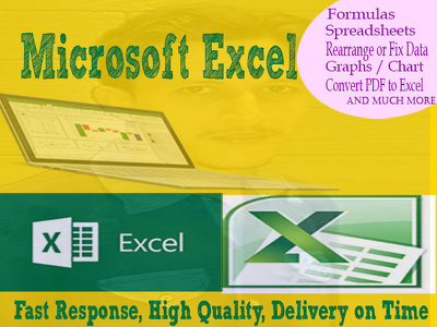 Help Microsoft Excel Issues, Formula, Spreadsheet, Convert PDF