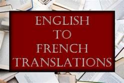 Translate 10 pages from French  to English and English to French
