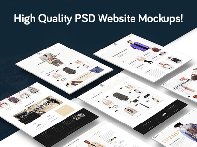 Design an amazing PSD Website Design