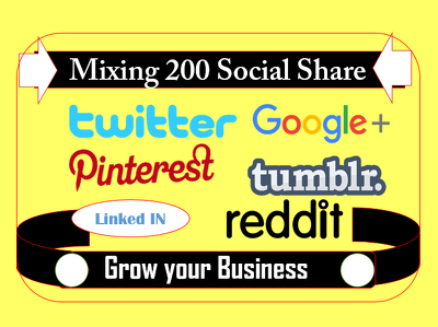 Share your links to relevant posts on twitter google+ pinterest