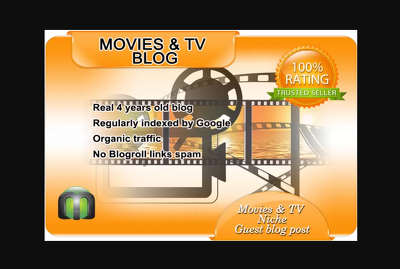 i will write and guest post on tv and movies blog