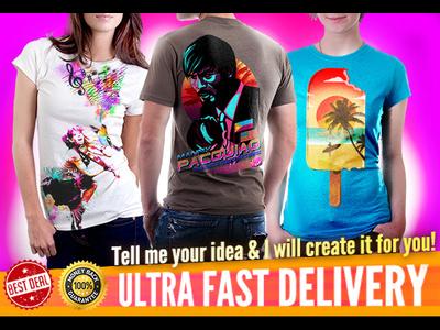 Create Eye Catching T-Shirt Designs