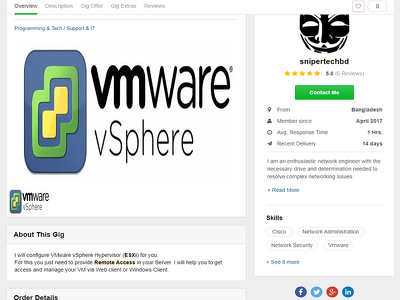 Configure or Fix VMware Vsphere (Esxi Hypervisor)