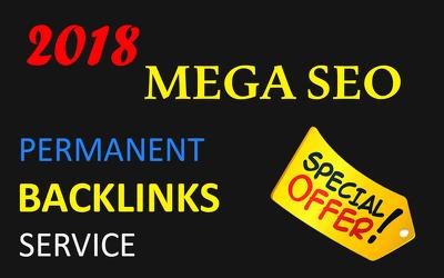 I will Provide Permanent and Do-follow SEO Backlinks service