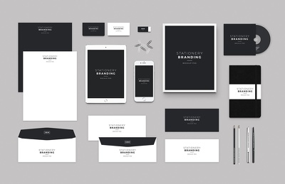 Design a professional stationary pack (agency level)