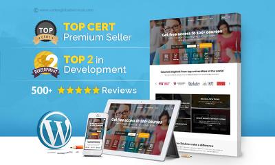 Develop a High-End Premium Fully Responsive Wordpress website