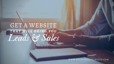 Design a leads/sales focused WordPress website for your business