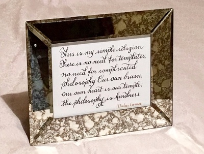 Hand write your quote, song lyrics or passage calligraphy