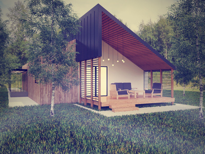 Do 3D visualization (3 renders exterior or interior - 1 room)