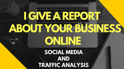 Give a SEO & Webanalytics Report for your Online Business