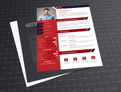 Design your CV in modern and professional style in 24 hours.