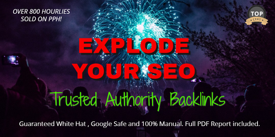 Explode Google SEO Rankings with Authority Backlinks + Free edu!