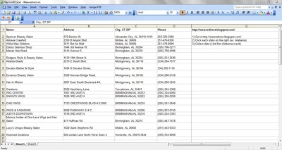 Do your data entry by using excel or word document