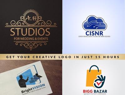 Design 3 Minimal Professional Modern Logo Concepts