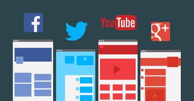 Design social media kit