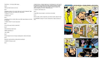 Write a 10 page professional comic book script