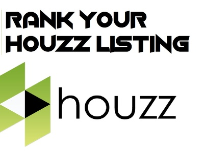 Rank your HOUZZ listing on 1st Page top 1-10 position