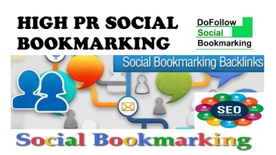 provide Manually 10 Top Social Bookmarking sites PR9, PR8, PR7