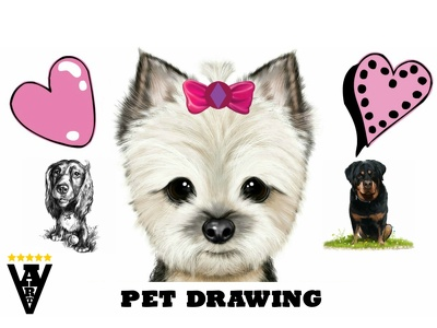 Draw a portrait of your pet