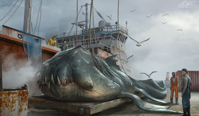 Produce a detailed Illustration or Concept Art