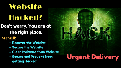 Completely Recover Hacked Website And Remove Malware