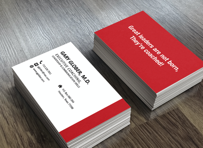 Design your modern, eye-catching business card!