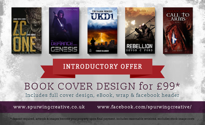 Design your ebook cover, full book wrap and novel artwork