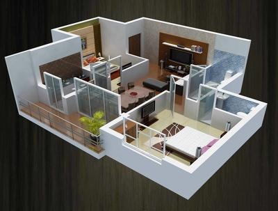 Convert 2d plan to  a 3d floor plan
