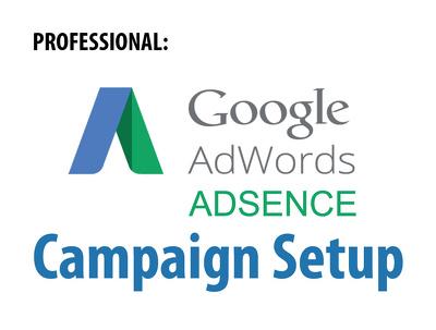 Setup Adword and Adsense Account